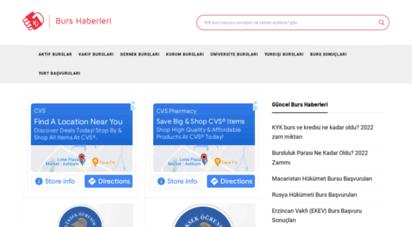 burshaberleri.com - burshaberleri.com burs veren kurumlar vakıflar duyuruları başvuruları