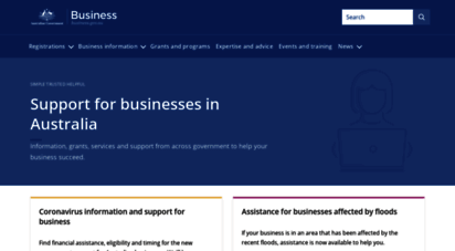 business.gov.au - support for businesses in australia
