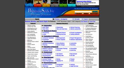 similar web sites like businessseek.biz