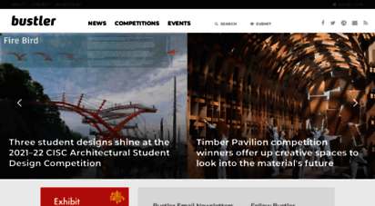 bustler.net - bustler: architecture competitions, events & news