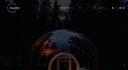 Welcome to Buubble com - Aurora Borealis bubble & igloo hotels in
