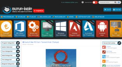 buyurindir.net - buyur-indir - full indir - program - oyun - film - tek link