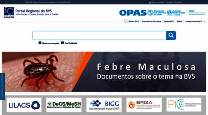 bvsalud.org - portal regional da bvs