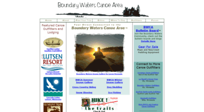 bwcaw.com - bwca - boundary waters canoe area wilderness