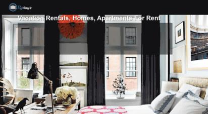 bydays.com - bydays - alquila apartamentos para estancias cortas en toda españa.