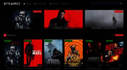 bytewarez.net - bytewarez  películas, series y animes para descargar