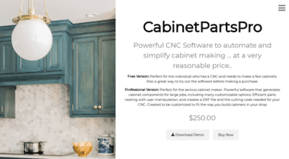 Cabinet parts pro software | Home  2019-05-10