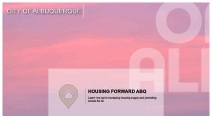cabq.gov - city of albuquerque