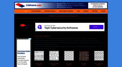 cadhatch.com - free autocad hatch patterns  cadhatch