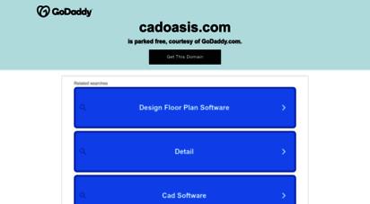 cadoasis.com - cadoasis - ease your cad software experience !