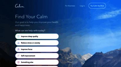 calm.com - calm - the 1 app for meditation and sleep