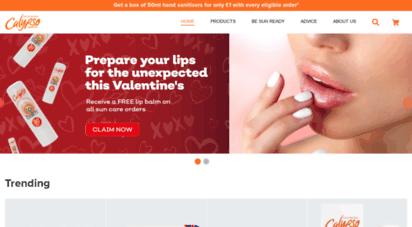 calypsosun.com - calypso sun lotions - protection for the whole family - calypso