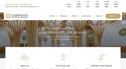 cambridgecentralmosque.org - home - cambridge central mosque