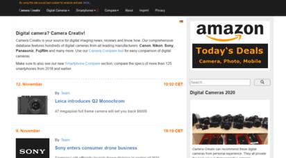 cameracreativ.com - digital camera news, reviews and tutorials  cameracreativ.com