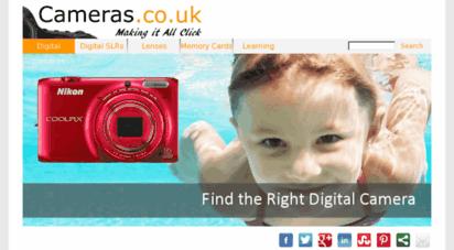 cameras.co.uk - digital cameras : digital slrs : camera lenses
