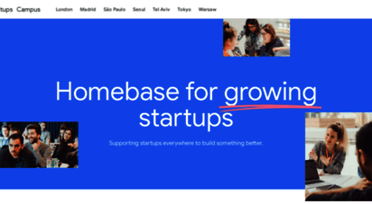 campus.co - google for startups campus - a global community of startups