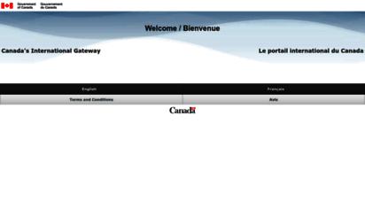 canadainternational.gc.ca - welcome / bienvenue  foreign affairs, trade and development canada / affaires ã©trangã¨res, commerce et dã©veloppement canada