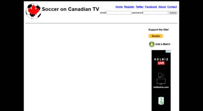 canadasoccertv.ca