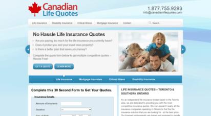 Canada Life Insurance Quote - Keikaiookami