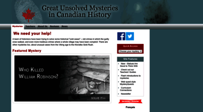 canadianmysteries.ca -