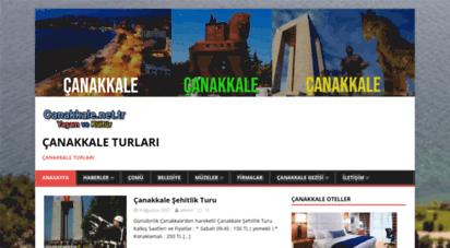 canakkale.net.tr - çanakkale turları,çanakkale şehitlik turu,çanakkale haberler
