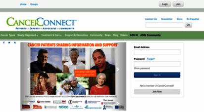 cancerconnect.com - cancerconnect.com  community  content  connection