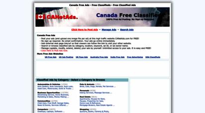 canetads.com - canada free ads - free classifieds