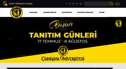 cankaya.edu.tr - çankaya üniversitesi