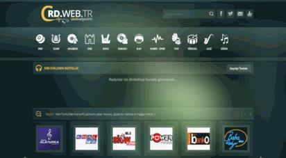 canliradyodinle.web.tr - canlı radyo dinle  crd.web.tr