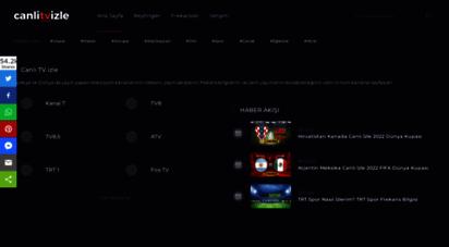 canlitvizle.com - canlı tv izle - hd kesintisiz tv izle