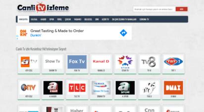 canlitvizleme.net - canlı tv izle kesintisiz hd televizyon seyret