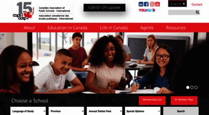 caps-i.ca - caps-i  the canadian ssociation of public schools - international