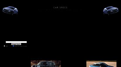 car-specs.za.net