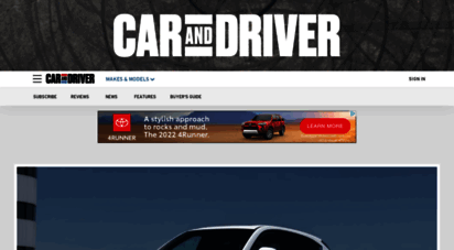 caranddriver.com - car and driver: new car reviews, buying advice and news