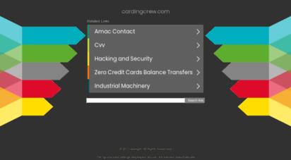 Welcome to Cardingcrew com - Cardingcrew com - Registered at