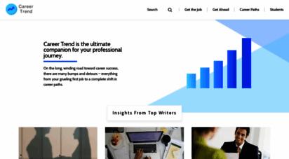 careertrend.com - career trend  the ultimate jobs resource