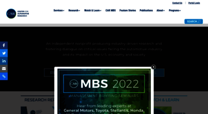 cargroup.org - center for automotive research