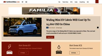 carnewschina.com - car news china - china auto news