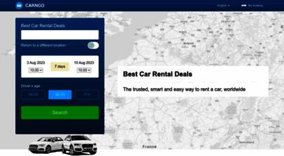 carngo.com - carngo.com: cheap car rental compare prices