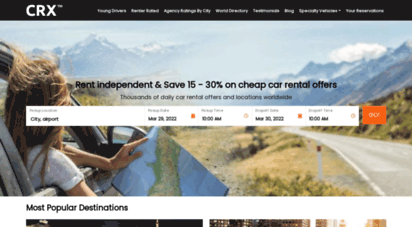 carrentalexpress.com - cheap car rental express: 1,000´s of vehicles and locations listings worldwide. over 10,000´s user ratings and reviews.
