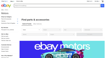 Welcome To Cars Ebay Com Au Motors Products For Sale Ebay