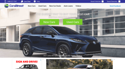 carsdirect.com - price, search, buy new & used cars online - carsdirect