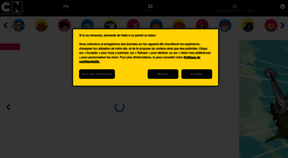 cartoonnetwork.fr - cartoon network: dessins animés, jeux et vidéos gratuits