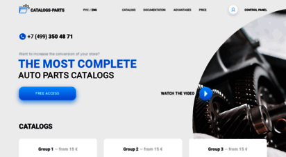 catalogs-parts.com - online parts catalog for rent, the parts catalogs for web site,