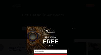 catholic.com - catholic answers