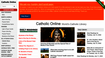 catholic.org - catholic online - world´s catholic library
