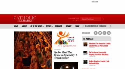 catholicexchange.com - catholic exchange