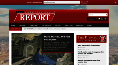 catholicworldreport.com - catholic world report - global church news and views