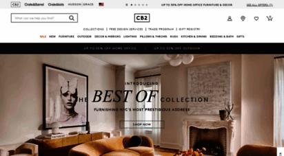 cb2.com - modern furniture and home decor  cb2
