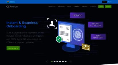 ccavenue.com - ccavenue :: merchant account, credit card processing & payment gateway